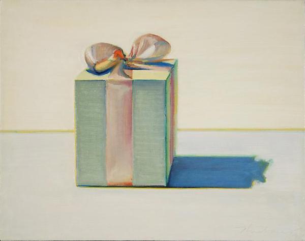 'Gift Box' by Wayne Thiebaud, 1971