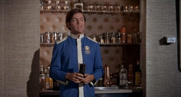 One of many Caesars service uniforms that Robert Drivas wore in the film--he played the owner's son.