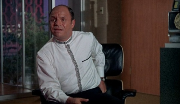 Rickles is confronted for stealing $$$ from the casino.