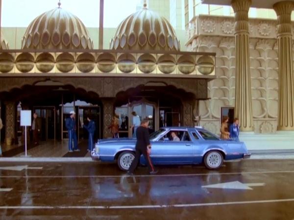Aladdin porte cochere