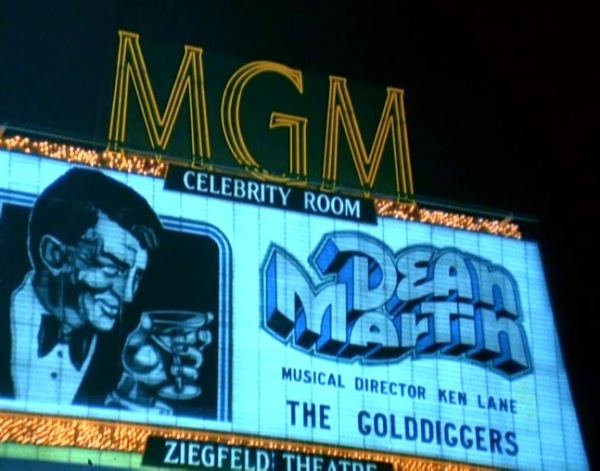 Dino on the old MGM Grand (now Bally's) marquee