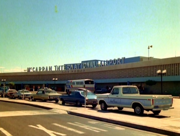 Vintage McCarran Airport...quite quaint.