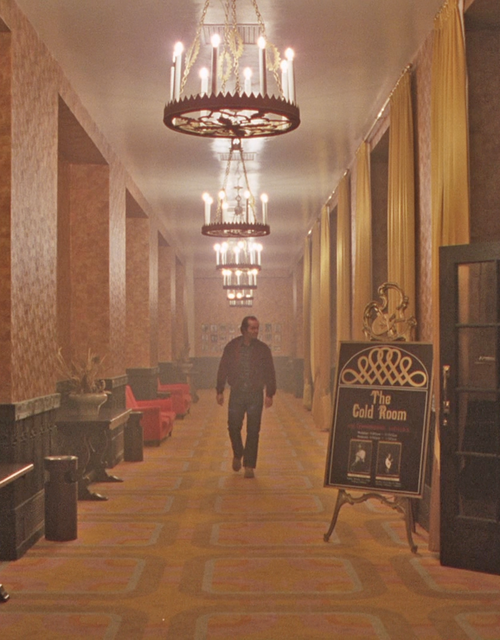 Nicholson in 'The Shining'
