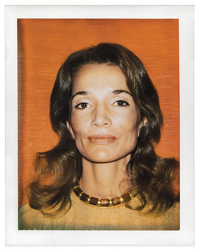 Polaroid of Lee by Andy Warhol, circa 1970