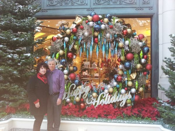 Mums & Daddy in Bellagio, 12.8.13