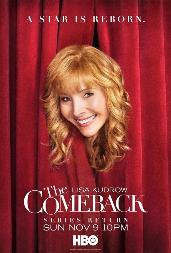 comeback red curtain advert