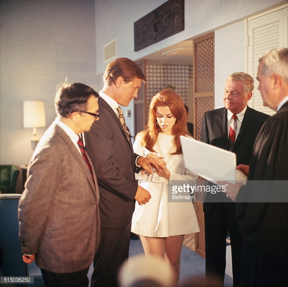 riv ann-margret wedding '67