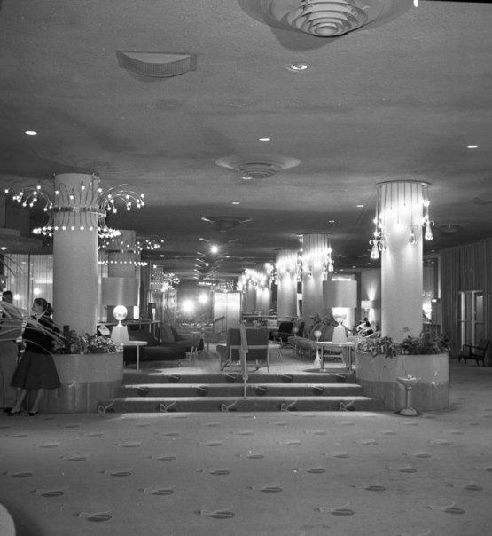 riv hotel lobby '55